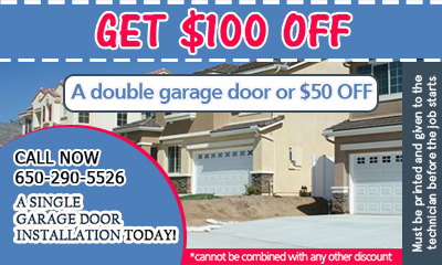 Garage Door Repair Redwood City coupon - download now!
